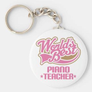 Regalo lindo del profesor de piano llavero