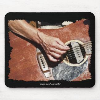 Regalo Mousepad del tema de la MÚSICA del guitarri Alfombrillas De Ratones