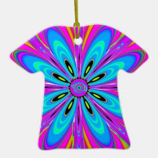 Regalo multicolor del diseño floral rosado de los adornos