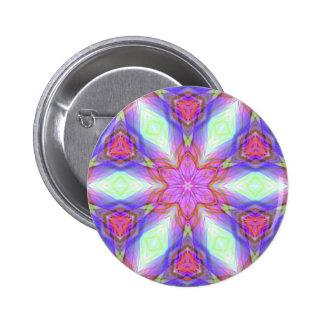 Regalo muy único, modelo ligero del LED Pin Redondo De 2 Pulgadas