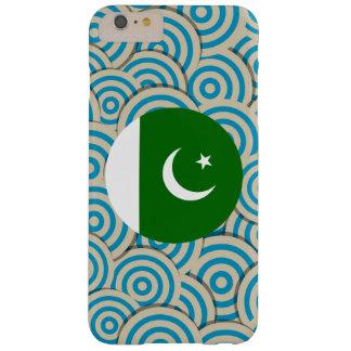 Regalo paquistaní femenino de la bandera funda para iPhone 6 plus barely there