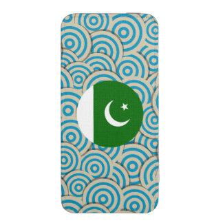 Regalo paquistaní femenino de la bandera funda acolchada para iPhone