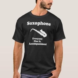 Regalo para el jugador de saxofón playera