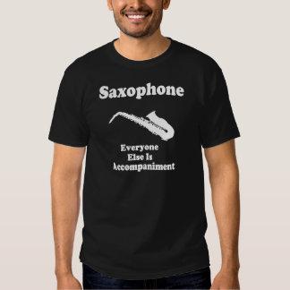 Regalo para el jugador de saxofón poleras