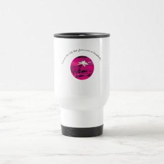 Regalo para el lirio taza térmica