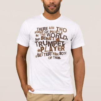 Regalo para hombre de la camiseta de la trompeta