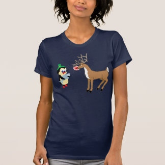 regalo para la camiseta del reno playera