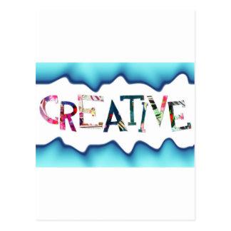 Regalo para la persona creativa tarjetas postales