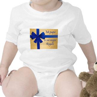 Regalo para padre traje de bebé