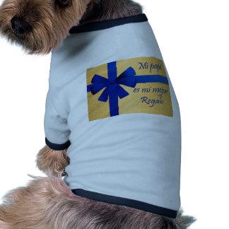 Regalo para padre camiseta de perro