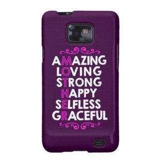 Regalo perfecto del día de madres de la MADRE el | Samsung Galaxy SII Fundas