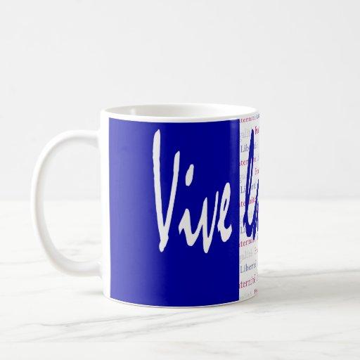 Regalo perfecto para la gente que ama Francia Tric Tazas De Café