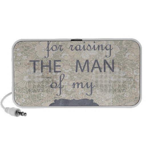 Regalo perfecto para la suegra iPod altavoces
