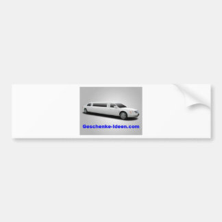 Regalo personal pegatina para auto