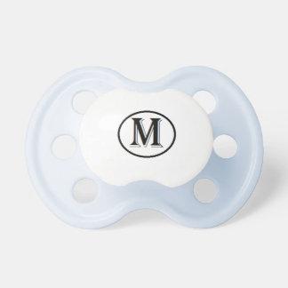 Regalo personalizado adorable del bebé chupete de bebe