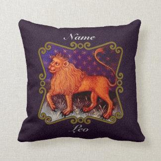 Regalo personalizado de la muestra del zodiaco de almohadas