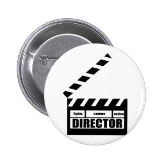 Regalo personalizado del director de película tabl pins