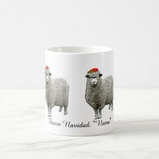 regalo personalizado del navidad taza básica blanca