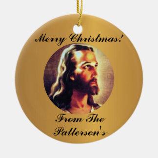 Regalo personalizado del ornamento del navidad del