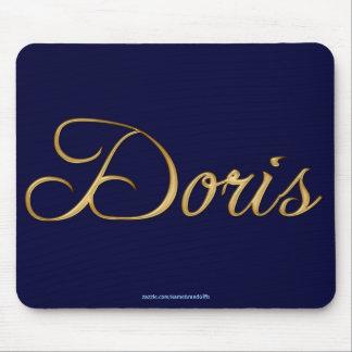 Regalo personalizado Nombre-Calificado DORIS Mouse Tapetes De Raton