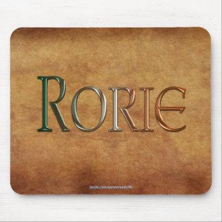 Regalo personalizado Nombre-Calificado RORIE Mouse Mouse Pad