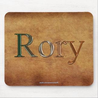 Regalo personalizado Nombre-Calificado RORY Mousep Mouse Pad