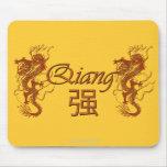Regalo personalizado nombre chino Mousepad de QIAN Tapete De Raton
