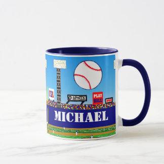 Regalo personalizado taza del béisbol de 2012