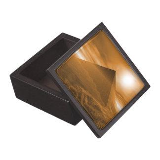 Regalo Piramide de la caja Cajas De Recuerdo De Calidad