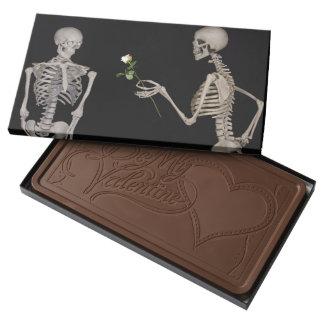 regalo profundo de la tarjeta del día de San Chocolate Con Leche Personalizado