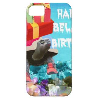 Regalo que cuida de la tortuga para el cumpleaños iPhone 5 carcasas
