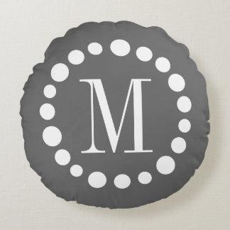 Regalo redondo de la decoración del hogar de la cojín redondo