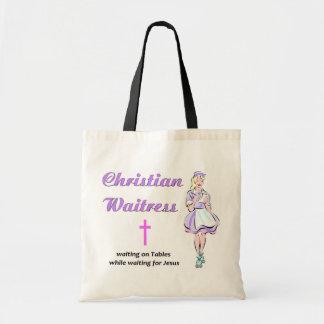 Regalo religioso de la camarera cristiana bolsa