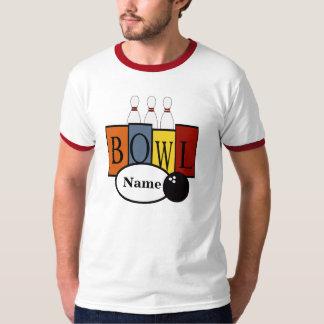 Regalo retro personalizado de la camiseta de los polera