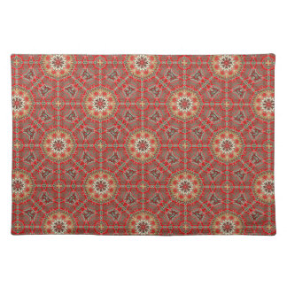 Regalo rojo de Placemat del diseñador del nuevo Mantel