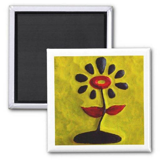 Regalo rojo y negro de Magnet_Art del refrigerador Iman Para Frigorífico