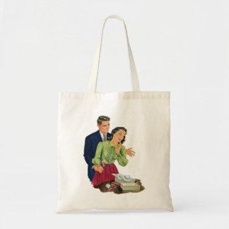 Regalo romántico de la sorpresa de la datación del bolsa tela barata