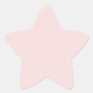 Regalo rosáceo del special del modelo rayado pegatina en forma de estrella
