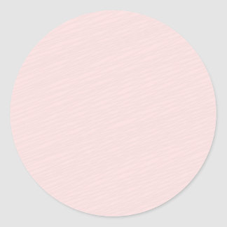 Regalo rosáceo del special del modelo rayado pegatina redonda