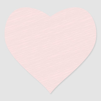 Regalo rosáceo del special del modelo rayado pegatina en forma de corazón