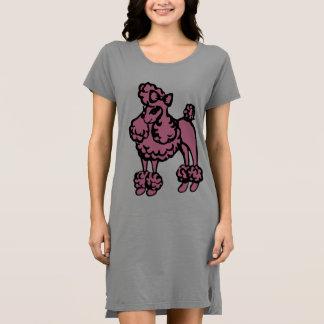Regalo rosado de la camiseta del camisón del