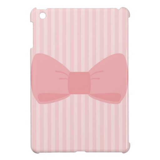 Regalo rosado dulce del arco iPad mini funda