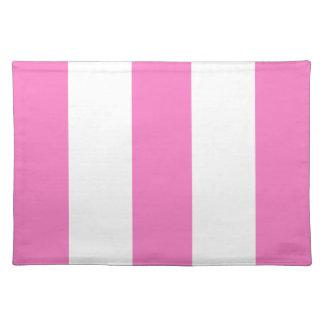 Regalo rosado y blanco de la caída 2012 de la raya mantel