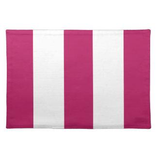 Regalo rosado y blanco de la caída bonita 2012 de  mantel individual