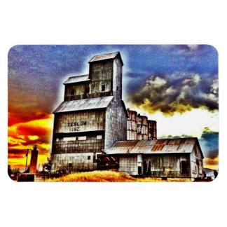 Regalo rural de los granjeros del elevador de gran imán