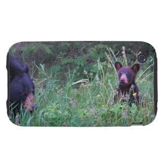 Regalo salvaje de la fauna de los Animal-amantes Tough iPhone 3 Carcasas