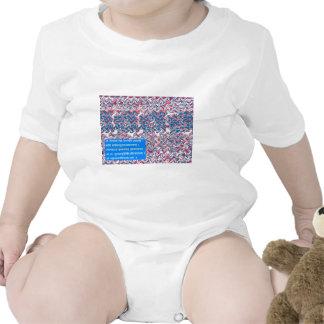 Regalo simbólico del texto del rezo sánscrito del trajes de bebé