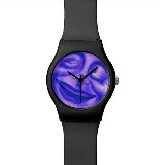 Regalo sonriente de la diversión del arte abstract reloj de mano