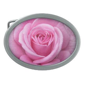 Regalo subió rosa color de rosa de los rosas de la hebilla cinturon oval
