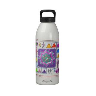Regalo una estrella púrpura - lleve uno usted mism botella de agua reutilizable